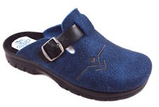 FLY FLOT 62582 7F BLU CIABATTE UOMO MADE IN ITALY SOTTOPIEDE ANATOMICO ANTISHOCK