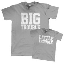 big trouble Little Trouble Camiseta - Padre Hijo Hija Regalo Para Padres