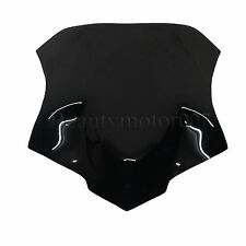 2 Colors Double Bubble Windshield WindScreen For Yamaha MT-09 MT 09 Tracer 15-16