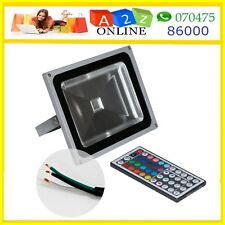 30W RGB LED Flood Light With 44 key IR Remote (More Effects)1st Time In India
