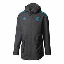 Real Madrid UCL Allenamento All Weather Giacca Nero Uomo adidas