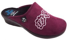 FLY FLOT L7947 WD GRANATA CIABATTE DONNA MADE IN ITALY SOTTOPIEDE ANATOMICO ZEPP