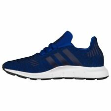 Scarpe sportive ragazzi ADIDAS Swift Run GS running in tela blu e nero CQ0024