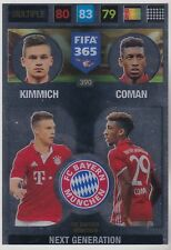 Panini Adrenalyn XL FIFA 365 2017 Next Generation Multiple FC Bayern 390