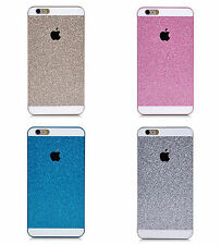 Quality Bling Glitter Pink Blue Gold Silver Colour Hard Apple iPhone Case Cover