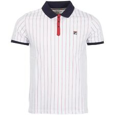 Fila Vintage Polo - Bjorn Borg - Retro Tennis Shirt with Free Fila Borg Headband