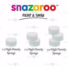 Snazaroo High Density Sponges - Face & Body Make Up - Special Effect - Brand New