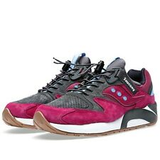 SAUCONY GRID 9000 PREMIUM red/ charcoal (3 dots pack) ds
