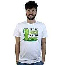 camiseta Irish en un Few Beers, Camiseta en blanco divertido en Cerveza irlandés