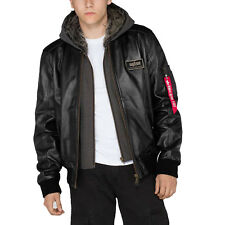 Alpha Industries uomo giacca di pelle MA-1 D-TEC pelle giacca invernale S - 5XL