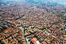 "Bildmotiv ""residential district from helicopter. Barcelona"""