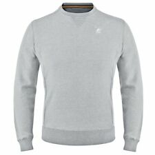 K-WAY felpe UOMO pullover PRV/EST AUGUSTINE FRENCH TERRY SUMMER KWAY 03Sqaewdps