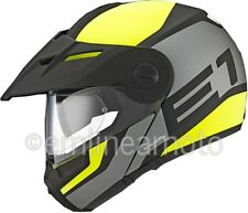 Casco Abatible Off-Road Schuberth E1 Guardian Yellow