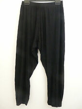 Join Clothes Size Small Rib Jersey Crop Trousers Black