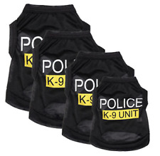 Police K-9 Unit  Black Dog Sweatshirt Hoodie - Dog Sweater - Dog Jumper Clothing