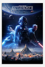 Star Wars Battlefront 2 Game Cover Poster New - Maxi Size 36 x 24 Inch