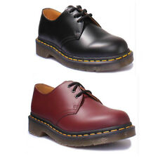 Dr Martens 1461 Smooth Unisex Leather Matt Cherry Red Oxford Shoes