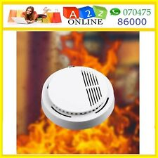 Standalone High Sensitivity Smoke Detector Alarm For Home Safety -With Battery