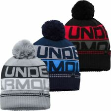UNDER ARMOUR COLDGEAR RETRO POM 2.0 GOLF BEANIE, 1300078 *IDEAL XMAS GIFT*