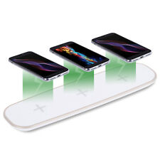 2017 NEW 36W Qi Fast Wireless Charger 5 Phones Charging Pad For iphone X/8/8p/7