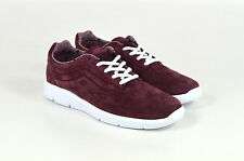 VANS, ISO 1.5 , (Tweed lunares) BURDEOS/CIERTO blanco, rojo, Low Top Zapatillas,