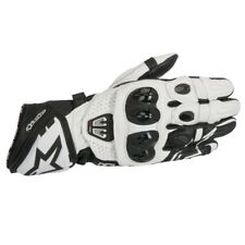 Alpinestars GP Pro R2 Leather Track Motorcycle Gloves - Black/White