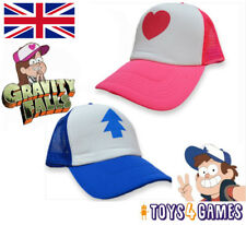 UK NEW Gravity Falls Pine Tree Curved Bill Mabel Dipper Cartoon Baseball hat