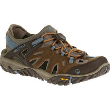 Merrell All Out Blaze Sieve Womens Footwear Aqua Shoes - Brown Sugar Blue Heaven