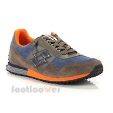 Scarpe Lotto Leggenda Tokyo Targa T0853 EB moda uomo sneakers blue brown orange