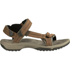 Teva Terra Fi Lite Leather Womens Footwear Sandals - Brown All Sizes