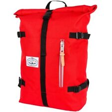 Poler Outdoor Stuff Classic Rolltop Unisex Rucksack - Bright Red One Size