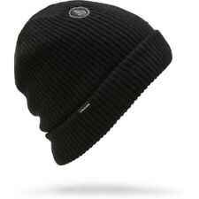 Volcom Sweep Lined Mens Headwear Beanie Hat - Black One Size