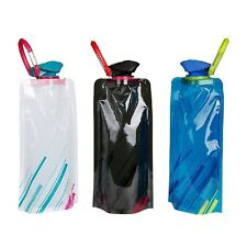 700ML Environmental Flexible Collapsible Foldable Reusable Water Bag