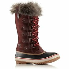 Sorel Joan Of Arctic Faux Fur Womens Boots - Redwood Red Element All Sizes