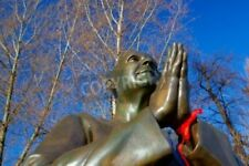 "Bildmotiv ""PRAGUE-MARCH 21,2013 Statue of Harmony on Museum Kampa on the Vlt..."""