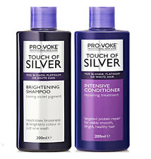 ProVoke Touch of Silver Colour Care Shampoo, Conditioner, Brightening, Pretoning