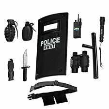 Ultimate All-In-One Police Officer Role Play Set For Kids – Includes SWAT