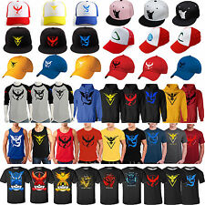 POKEMON GO TEAM Valor Mystic Instinct éventail inspiré T-shirt /