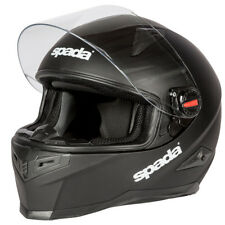 Spada RP900 Full Face Motorbike Motorcycle Helmet Lid Crash - Plain Matt Black