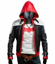 Batman Arkham Knight Red Hood Faux Leather Jacket & Vest