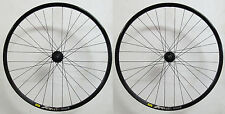 "DT Swiss 370 15x100mm 12x142mm MAVIC XC 821 Disc Set ruote mtb 29 "" NERO 6-L"