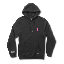 Grizzly - OG Bear Embroided Hoody - Black/Pink SALE
