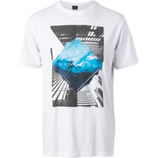 Rip Curl Good Day Bad Mens T-shirt - White Blue All Sizes