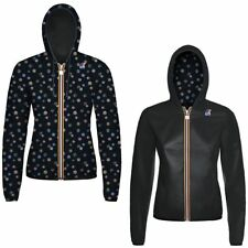 K-WAY LILY PLUS DOUBLE GRAPHIC giacca DONNA cappuccio prv/est New KWAY 997mselyd