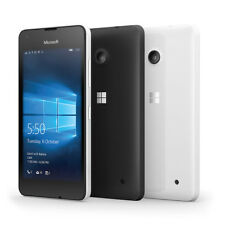 New Nokia Lumia 550 Black 8GB Windows 10 Wifi 4G LTE GPS 5MP Unlocked Smartphone