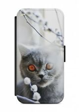 Samsung Galaxy Chat Cat Animal étui Rabattable Sac à clapet housse étui housse