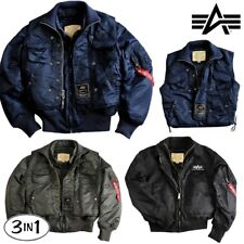ALPHA INDUSTRIES giacca invernale uomo X-FORCE 3 1 BOMBER S-5XL