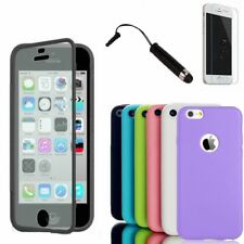 Coque Etui Housse Flip Cover Silicone Gel iPhone + Film + Stylet Offert