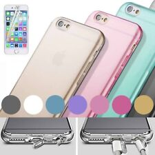 Coque Etui Housse En Silicone Gel Apple iPhone  6 / 6 Plus + Film De Protection