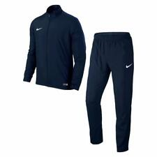 Nike Mens Tracksuit Academy Track Top Pant Soccer Training Dri Fit Navy 808758